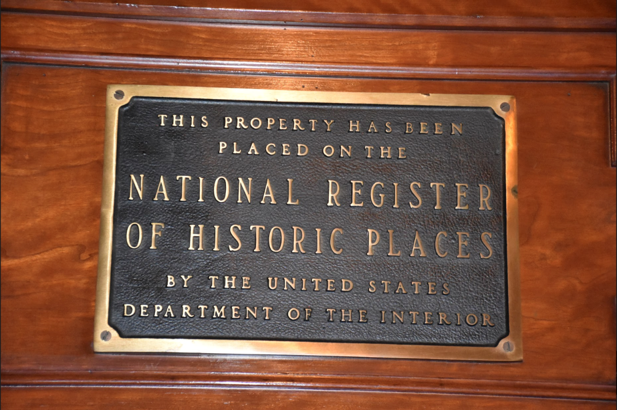National Hist. Registry North Ward Center